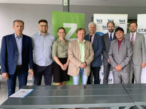 Představitelé Strany zelených, hnutí STAN a Nezávislých se dohodli na spolupráci pro krajské volby 2020
